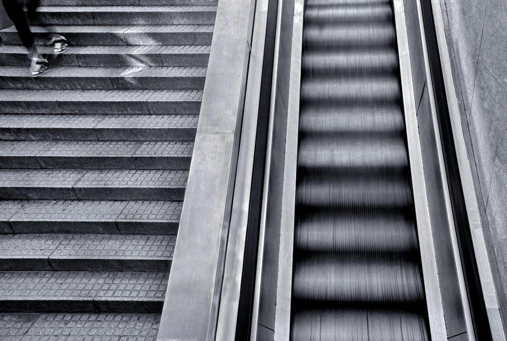 Las dos escaleras (Salvador Solé Soriano)