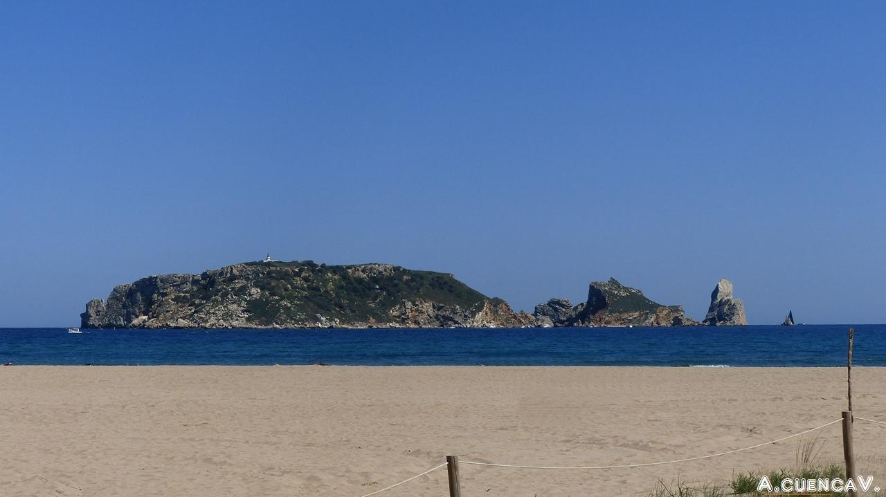 las islas Medas. (Antonio Cuenca.   vaya)