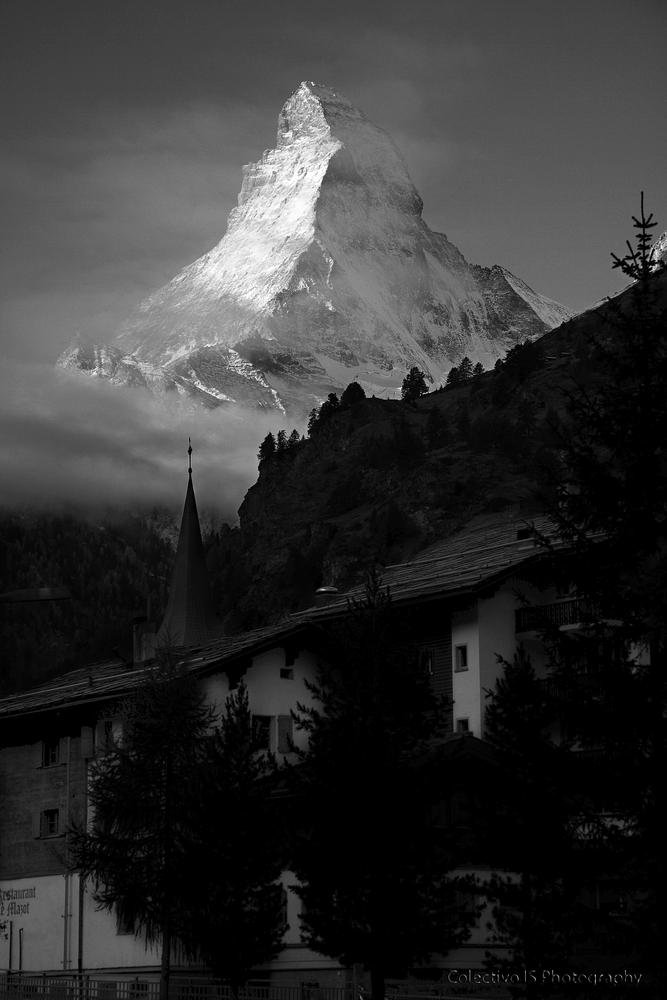 Matterhorn desde Zermatt (Txema Bacaicoa (Colectivo IS))