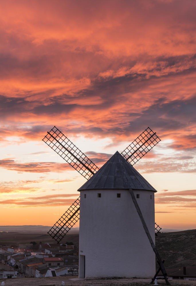 molinos de La Mancha (Josep Escayol Farran)