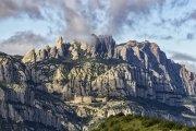 Monasterio de Montserrat desde el Puigventòs
