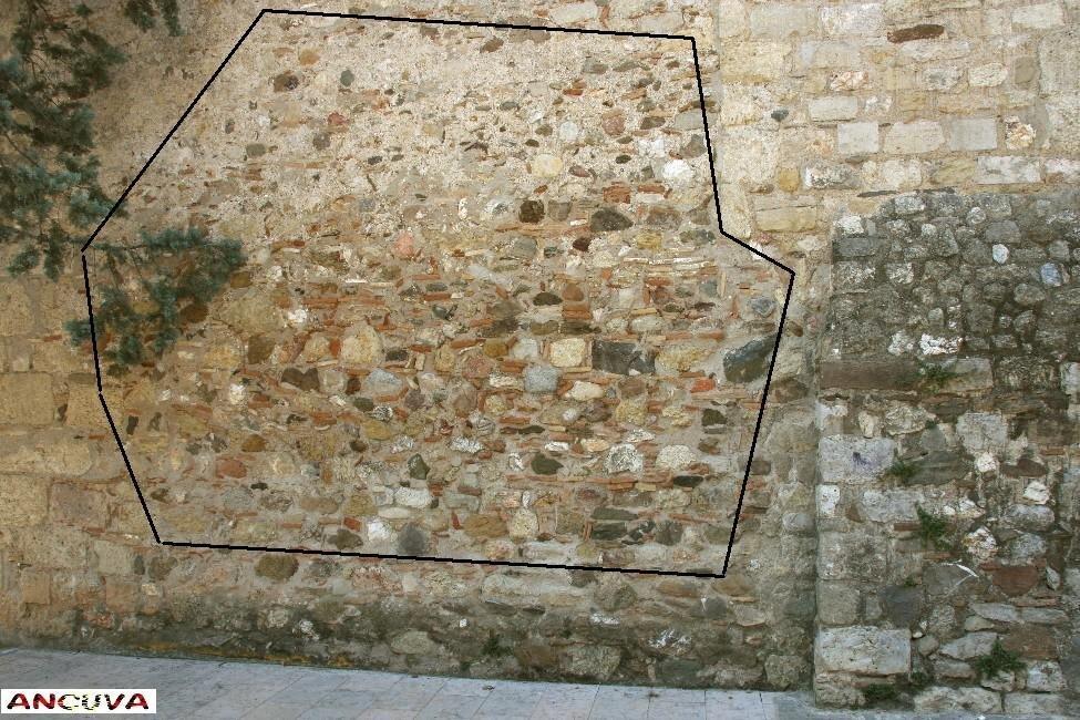 muralla. (Antonio Cuenca.   vaya)