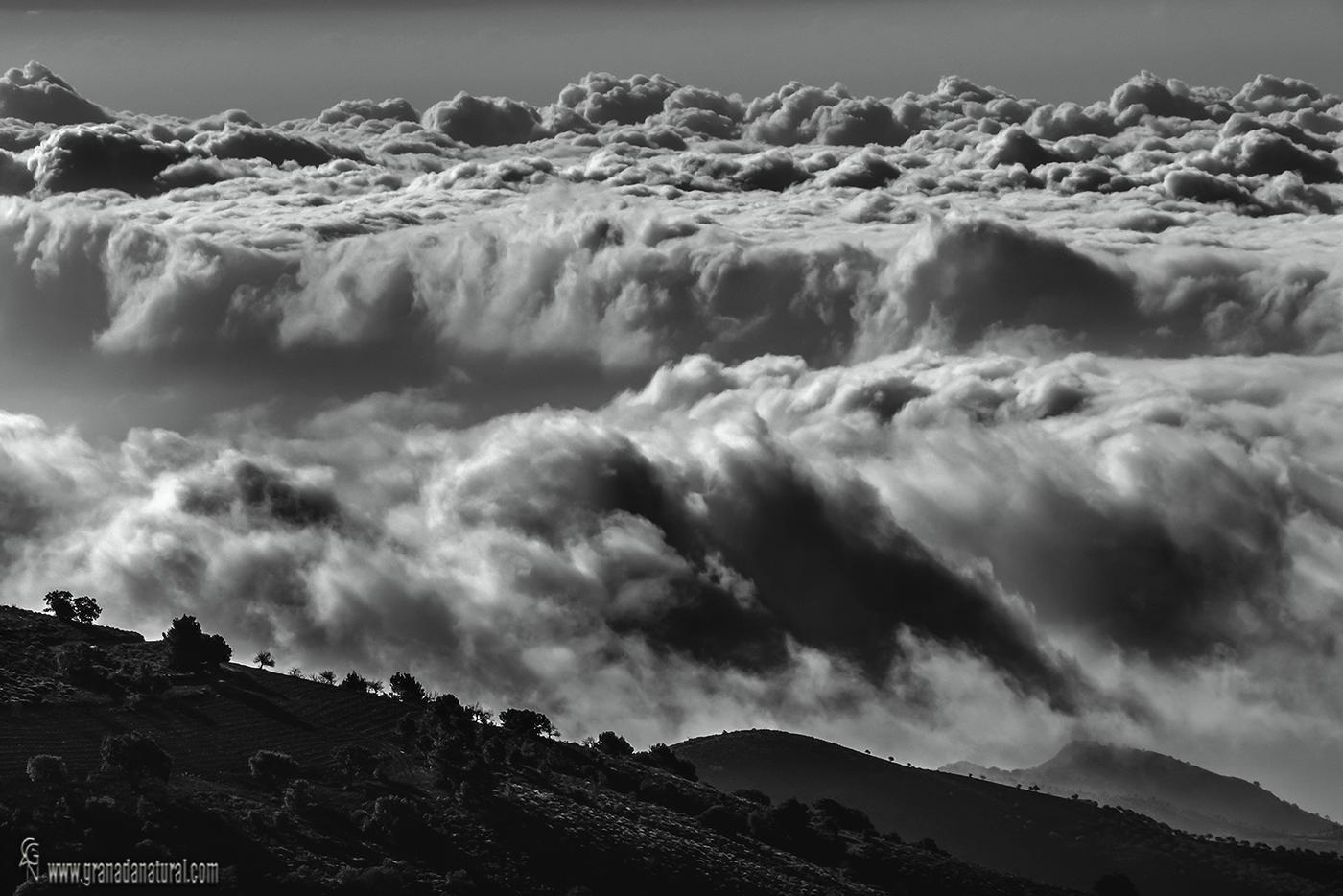 Nubes en la Contraviesa 2  (Lucas Gutierrez Jiménez)