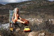 Nudismo en el vertedero
