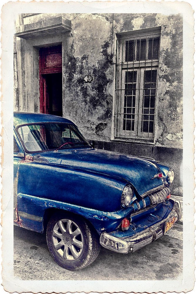 Old Cuban Car (Salvador Solé Soriano)