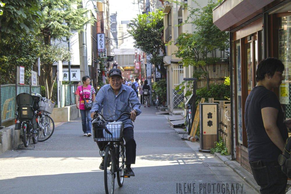 Por las calles de Asakusa, Tokio (Irene Fdez)