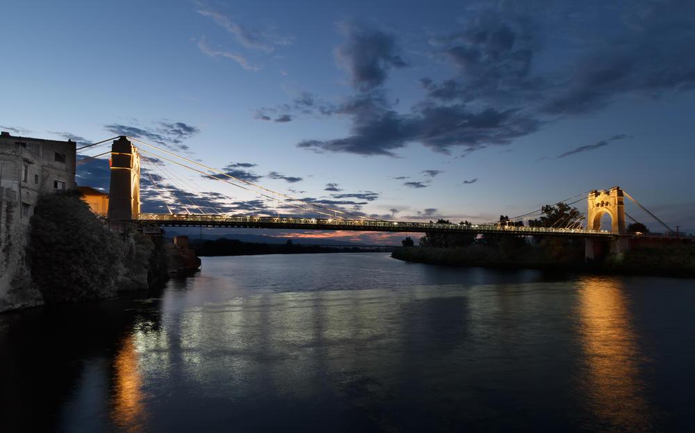 Puente colgante de Amposta (Miguel Angel Vázquez Márquez)