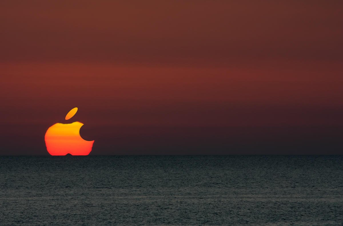 Puesta de sol Apple (Miguel Angel Vázquez Márquez)