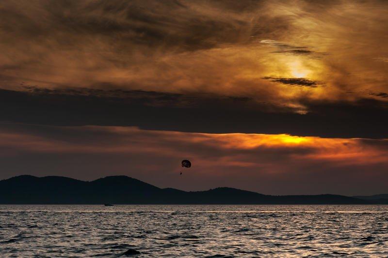 Puesta de sol en Zadar (Jose Luis Rubio Perez)