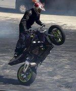 Quemando ruedas
