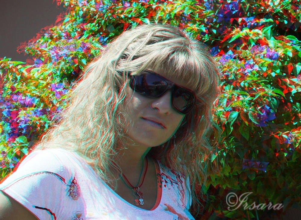 Retrato en 3D (Irene Sanz Ramirez)
