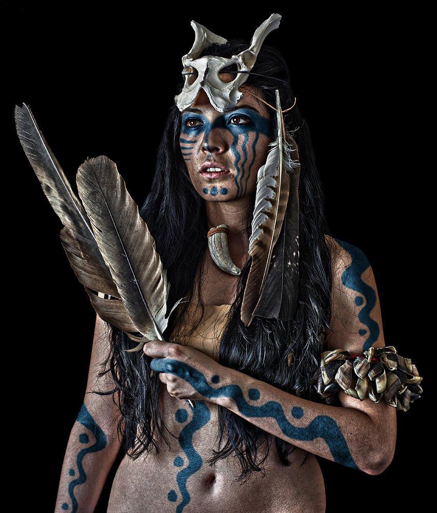 Retrato étnico 2 (Salvador Solé Soriano)