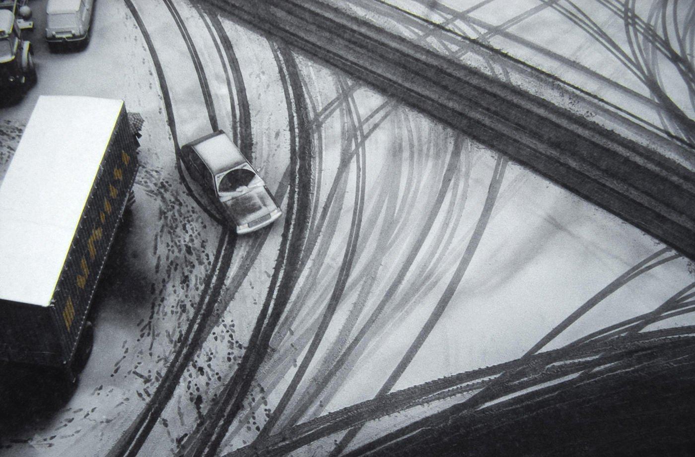 Roderas en la nieve (Salvador Solé Soriano)