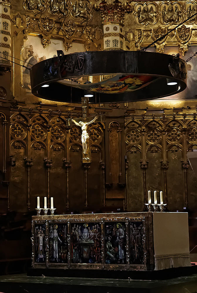 Santa María de Montserrat (F. Xavier Vilamanyà Prat)
