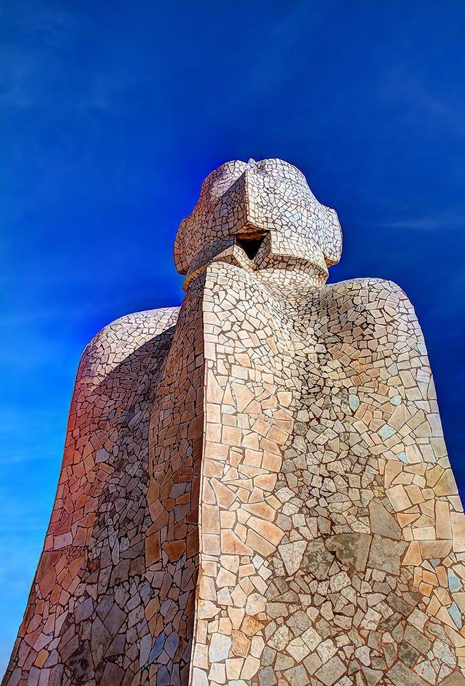 Un gigante en La Pedrera (F. Xavier Vilamanyà Prat)